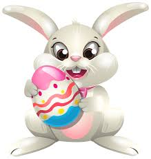 Easter Bunny whit Egg PNG Clip Art Best WEB Clipart