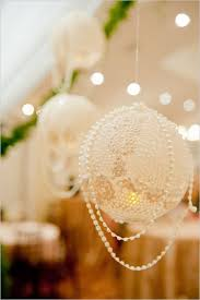 Bird Cage And Pearl Wedding Decor Lace Lanterns With Pearls Vintage Decoration