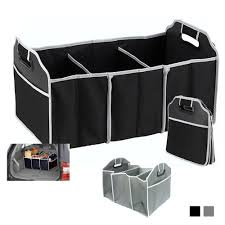Trunk Organizer Collapsible Folding Caddy Car Truck Auto Storage Bin ...