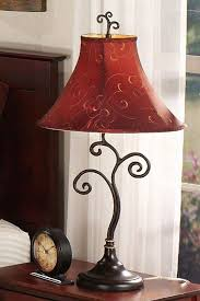 Image Of Rustic Table Lamps Living Room
