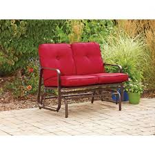 Mainstays Patio Set Red by Mainstays Patio Furniture Pyros Piece Conversation Set Seats
