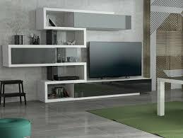 moderne wohnwand creon 6p möbel wohnzimmer set hochglanz