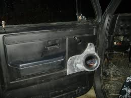 Cutting Holes In Door For Speakers - The 1947 - Present Chevrolet ...
