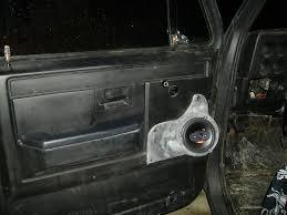 Cutting Holes In Door For Speakers - The 1947 - Present Chevrolet ...