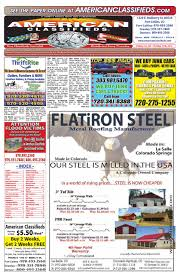 American Classifieds Front Range 10/17/13 By Thrifty Nickel Of ...