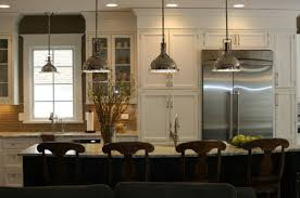 kitchen harmon pendant lights bring in a vintage industrial look
