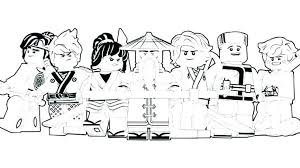 Ninjago Coloring Pages Lloyd Golden Lord Lego