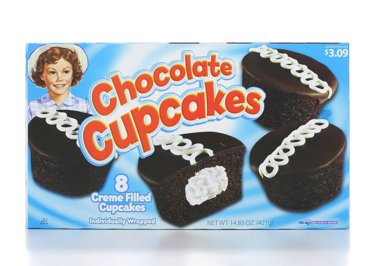 Little Debbie Chocolate Creme Filled Cupcakes - 8ct, 14.38oz