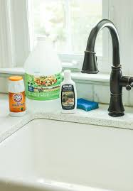 how to clean a cast iron sink or tub pretty handy girl
