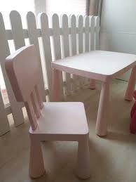 ikea mammut kinder tisch und stuhl