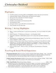 Extraordinary Sample Resume Teacher Ontario For Your Resumes Teachers Assistant Music Montessori