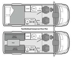 Two4theRoad Campervan Dodge Sprinter Rental North America LLC Van Conversion