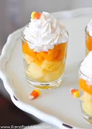 Top Halloween Candy 2013 by Kara U0027s Party Ideas Halloween Candy Corn Fruit Parfait Recipe