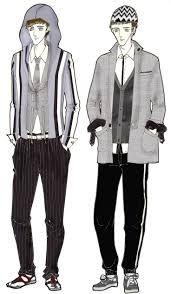 Men Fashion Design Sketches