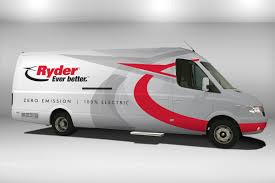 100 Rent Ryder Truck Will Start Renting Electric Vans In New York