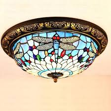 Stained Glass Light Fixture Fixtures Dining Room Bathroom