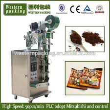 Small Coffee Powder Pouch Packaging Machine Juice Packing