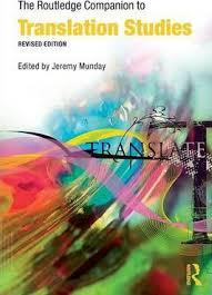 The Routledge Companion To Translation Studies Jeremy Munday 9780415396417