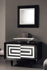 designer badezimmermöbel schwarz und weiß 828566