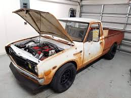 100 Datsun Truck 1973 620 With A CA18DET InlineFour Engine