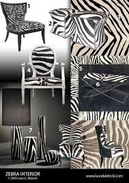 Amazing Furniture Zebra Home Decor