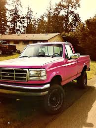 Pink Truck. | May Be A Ford But Damn! | Pinterest | Pink Truck, Ford ... Pink Truck May Be A Ford But Damn Pinterest 1996 F150 Xlt Pickup Item 4642 Sold July 29 3 Ways To Play Walker Dreamworks Motsports Lifted Pink Purple My Truck And With Massive Lift Crazy Graphics Caridcom Gallery 1956 F100 Pickup In Nsw 1992 Flareside Wild Magenta Is Poppin Fordtruckscom