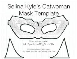 Dog Ear Headband Template Luxury Halloween Diy Selina Kyle Catwoman Costume The Dark Knight Rises Of Ears