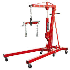 Home Depot Floor Leveler by Big Red 2 Ton Foldable Engine Crane With Load Leveler T32002x