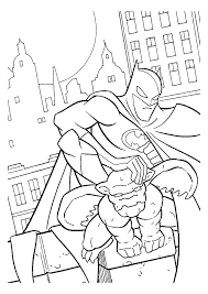 Night Batman Coloring Pages