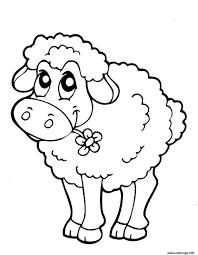 Coloriage Troupeau De Moutons Et Berger Coloriages à Imprimer