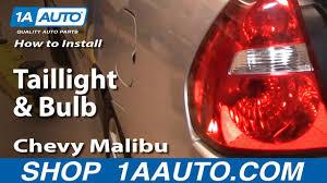 100 2011 Malibu Parts Tail Light Bulb New Wiring Diagrams