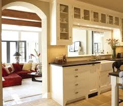Fresh Open Wall Between Kitchen And Living Room Half Dining Of 15 Luxury Remove