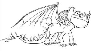 How To Train Your Dragon Coloring Pages Nadder