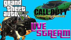 ADVANCED WARFARE PARTY GAMES/ GTA 5 OPEN LOBBIES AND MORE!