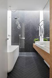 Bathroom Tile Floor Ideas For Small Bathrooms by Top 25 Best Modern Bathroom Tile Ideas On Pinterest Modern