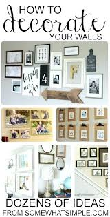 Wall Picture Collage Ideas On Walls Mesmerizing Photo Frame Template Best
