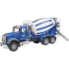 100 Bruder Mack Granite Liebherr Crane Truck Cement Mixer Cars S