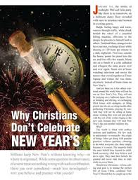Countries That Dont Celebrate Halloween by Why Christians Don U0027t Celebrate New Year U0027s