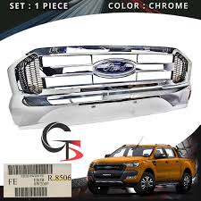 Front Grill Grille Chrome Genuine Trim For Ford Ranger T6 Pickup ... 52016 Ford F150 Chrome 5 Five Bar Radiator Grille Oem New Fl3z Blacked Out 2017 With Guard Topperking Ijdmtoy 4pc Raptor Style 3000k Amber Led Lighting Kit For Chevy Ride Guides A Quick Guide To Identifying 196166 Pickups Announces Changes For 2013 Road Reality Mesh Replacement 30in Dual Row Black Series 2015 Old Truck Grill Photograph By John Puckett Options Page 124 Forum 02014 Camera With Rdsseries 30 Paramount Automotive Grill Letters Enthusiasts Forums 52017 Addicts Traxxas Ripit Rc Cars Trucks Fancing
