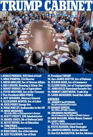 Vanishing Cabinet Of Time by Trump U0027s First Cabinet Meeting Members Praise Him Daily Mail Online