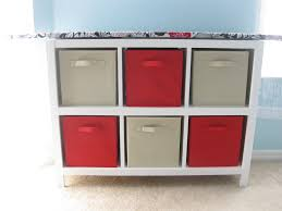 Ironing Board Cabinet With Storage by Ana White Cubby Shelf With Ironing Board Top Diy Projects