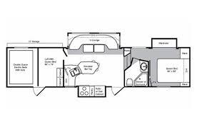 Raptor 5th Wheel Toy Hauler Floor Plans by 2010 Keystone Rv Raptor 19107 Colton Rv