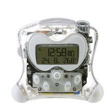 reveil heure au plafond réveil avec projection de l heure et température interieure