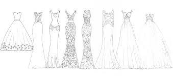 Wedding Dress Designer Sketch Ideas