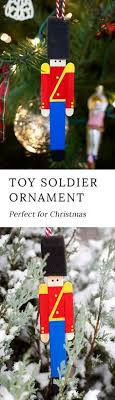 Crafters Big And Small Will Delight In Making Wooden Toy Soldier Ornaments With Craft Sticks