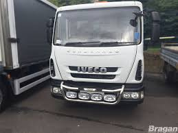 To Fit 04 - 15 Iveco Eurocargo Stainless Steel Grill Light Bar C ...