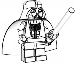 Easy To Make Lego Star Wars Coloring Pages Yoda Intended For