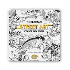 The Ultimate Street Art Coloring Book 1