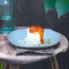 stracciatella quark mit mandarinen rezept essen und trinken