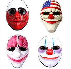 Payday 2 Halloween Masks Unlock by Well They Did It They Added The Paycheck Masks Paydaytheheist